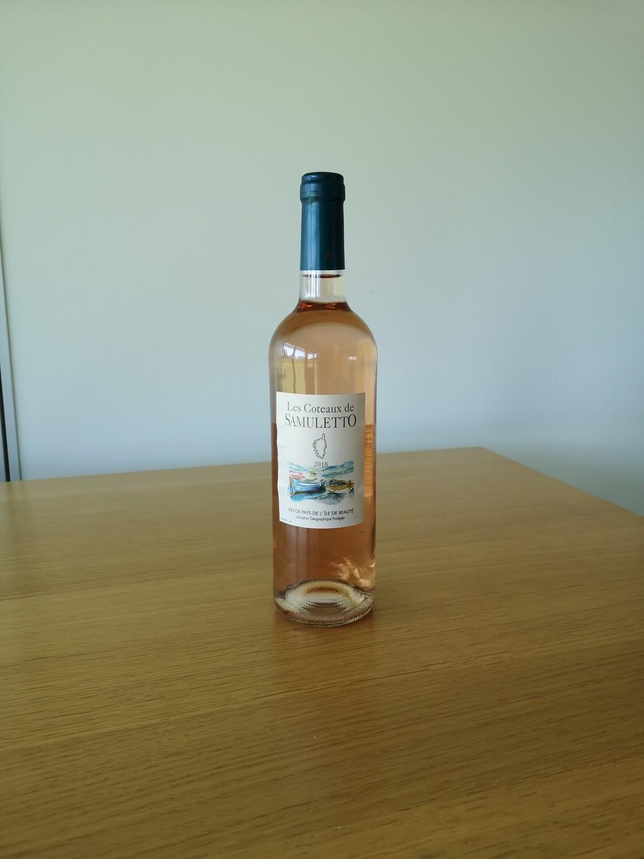 Bouteille de Vin Rosé Samueletto