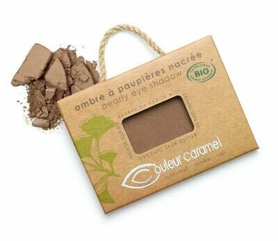 Ombre à paupières chocolat cuivré nacré