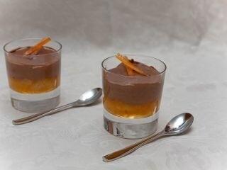 Crème chocolat & marmelade d'orange