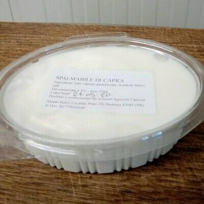 SPALMABILE DI CAPRA - VASCHETTA DA 250 gr