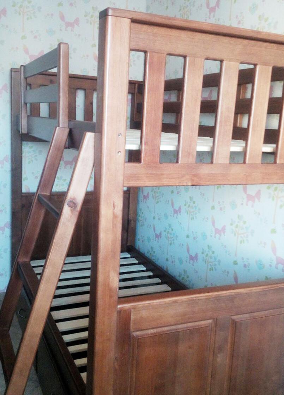 Кровать двухярусная для взрослых людей (гостевая)