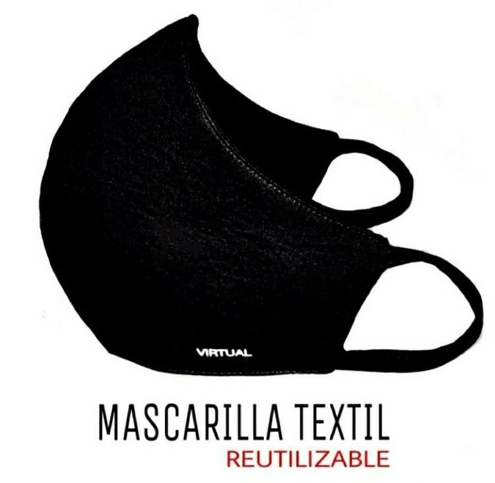 MASCARA VIRTUAL BLACK