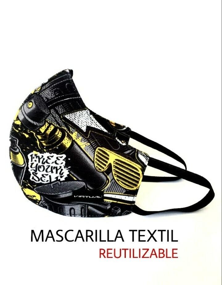 MASCARA VIRTUAL COMIC