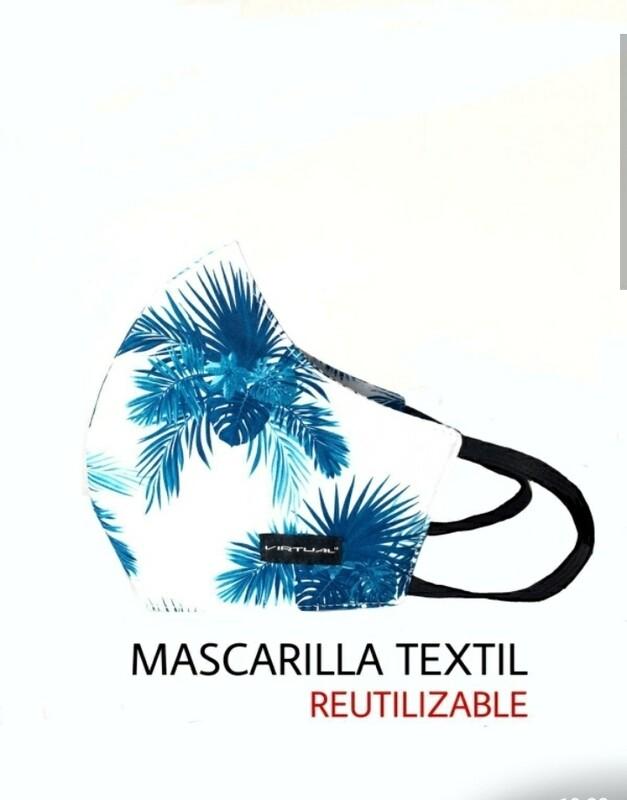 MASCARA VIRTUAL BLUE PALMS
