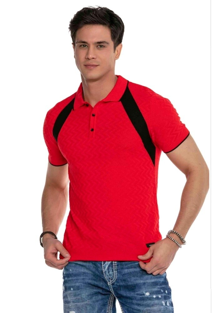 Cipo&Baxx CT652  Polo Red (Knitwear)