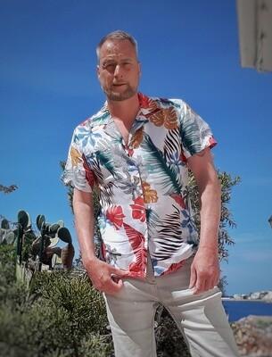 Dark&Fish Camisa Motiv Retro Tropical