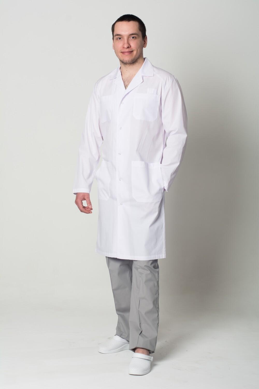 Мужской медицинский халат