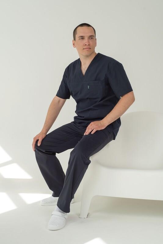 Мужская медицинская куртка