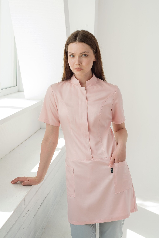 Халат-платье