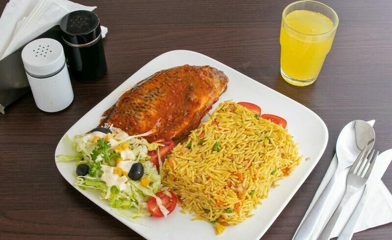 Fried Rice (Gebakken rijst met gemengde groenten)