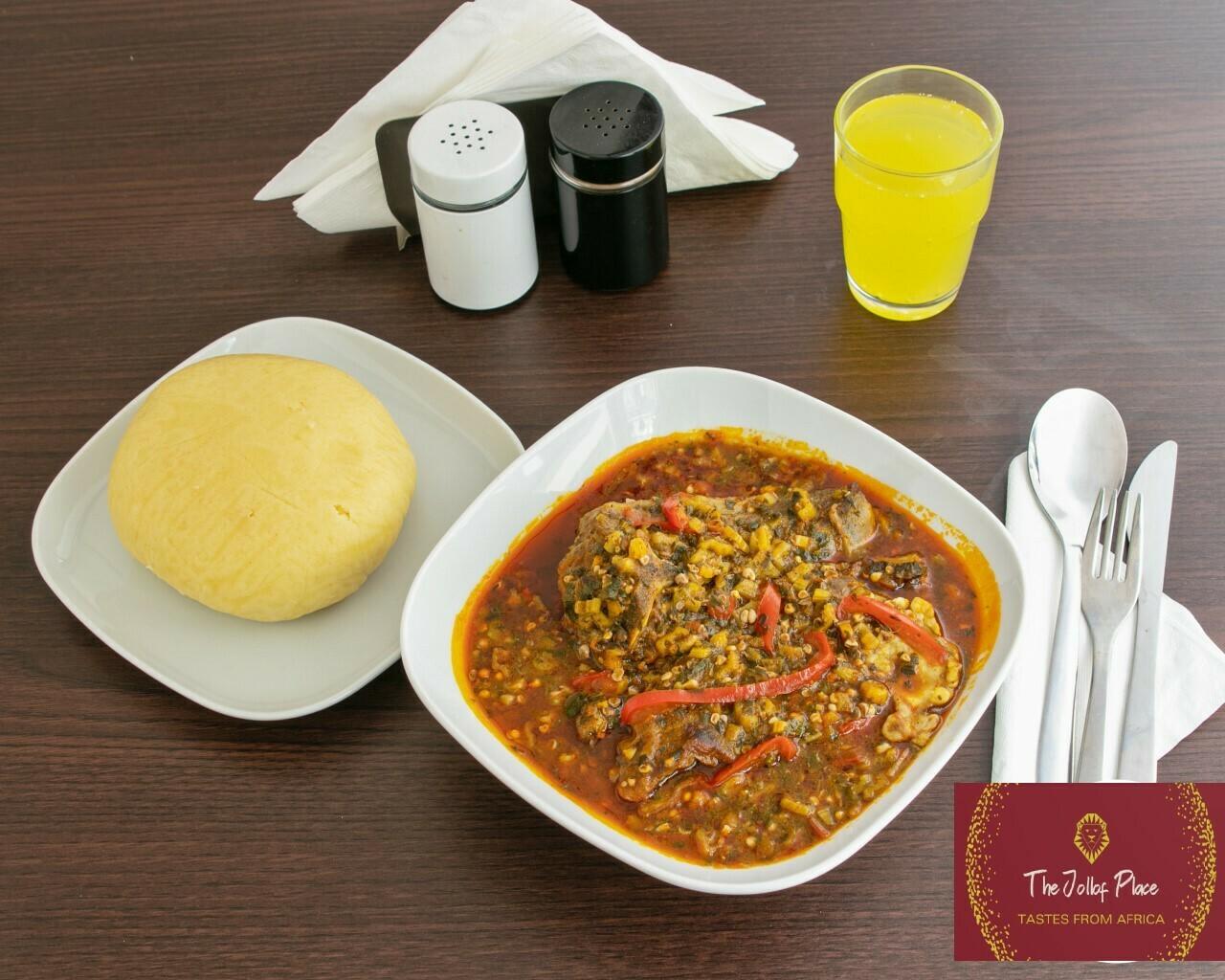 Soep (traditionele Afrikaanse soep)