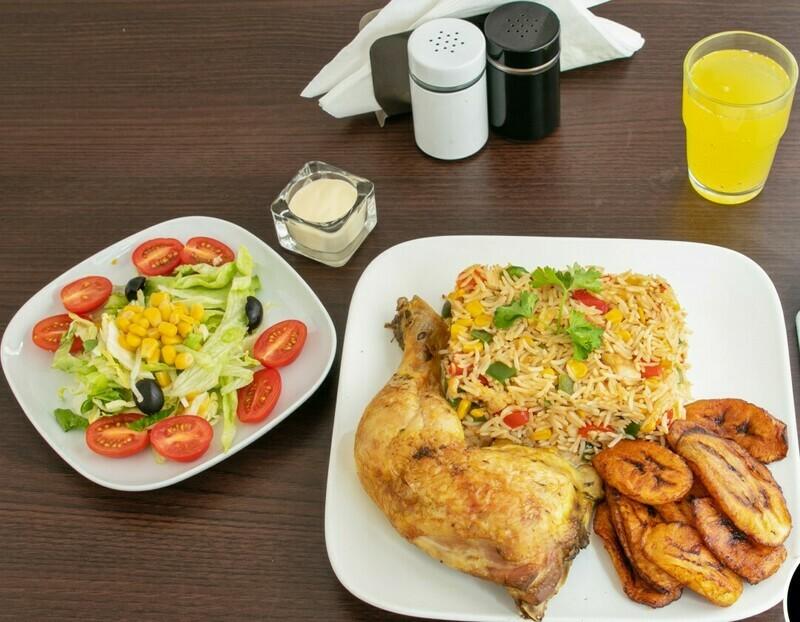 Cocos Rijst (Cocos rijst met gemengde groenten)