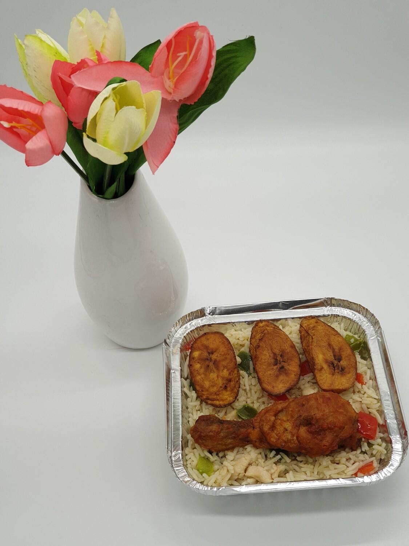 Cocos Rijst (Cocos rijst met gemengde groenten) - Jolly Box