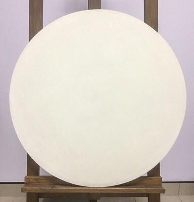 Холст грунтованный круглый 60 лён