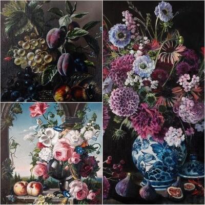 Пакет материалов «Голландские натюрморты»