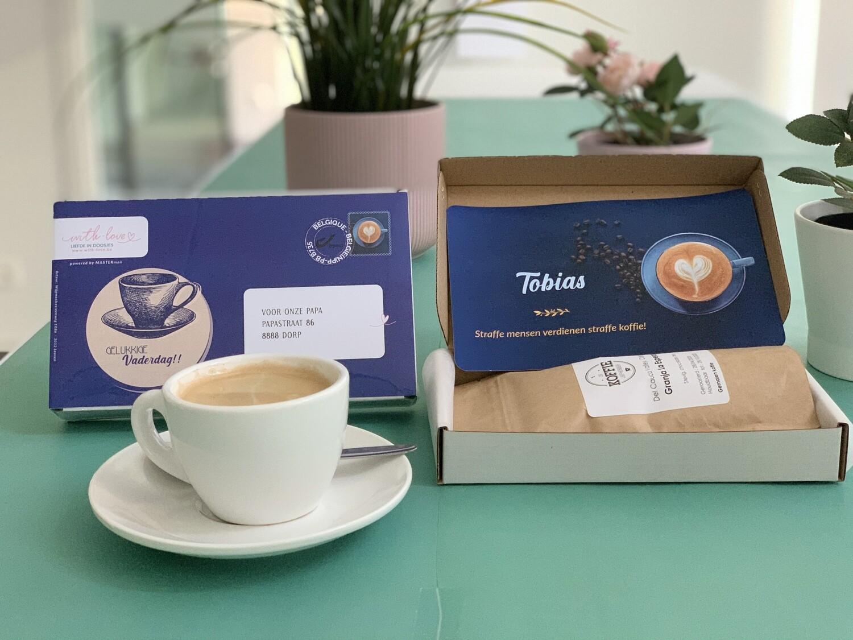 Koffie-doosje