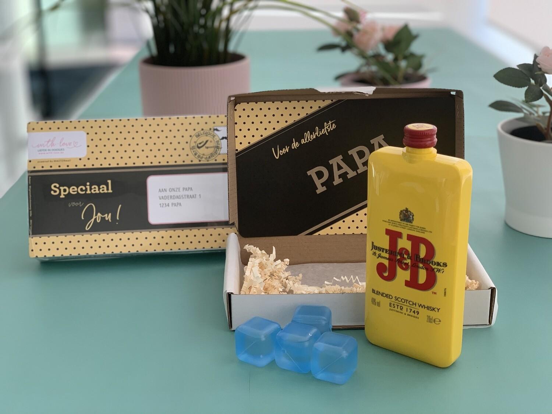 Whisky pakket J&B