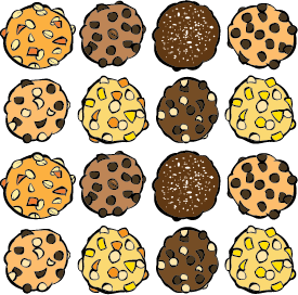 16 Cookies Online for Local Pickup