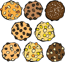 8 Cookies Online for Local Pickup