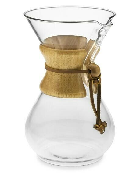 Método de filtrado Chemex 6 tazas