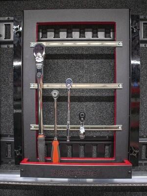 Ratchet Display Rack