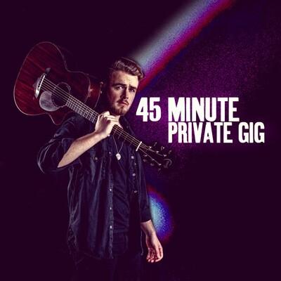 45 Minute Private Livestream Gig