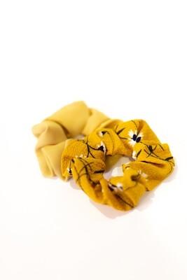Golden Scrunchie Set