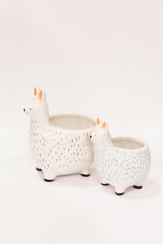 Llama Stoneware Set