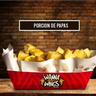 PORCION DE PAPAS