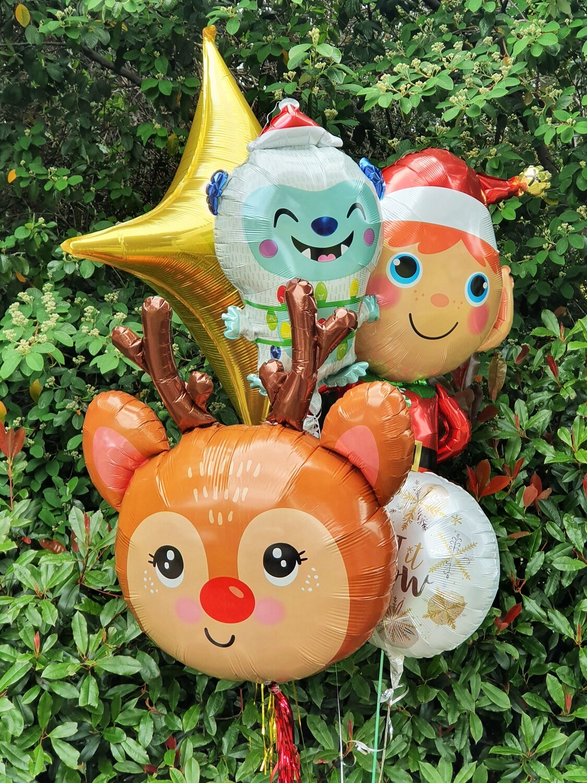 Christmas Foil Balloon Bundle