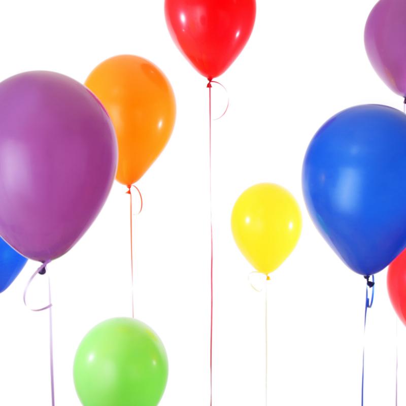 20 Loose Helium Balloons