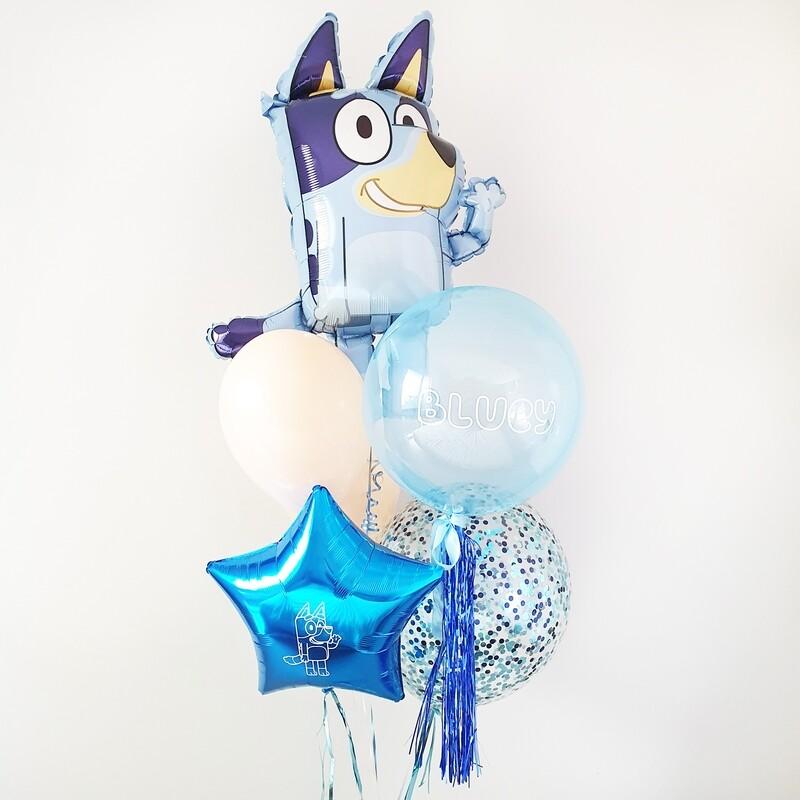 Bluey Balloon Bouquet
