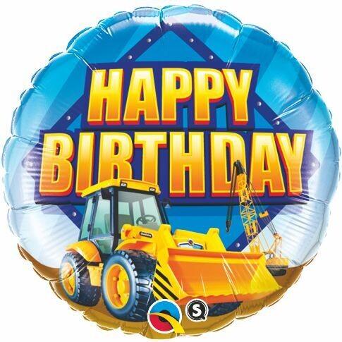 Construction Happy Birthday