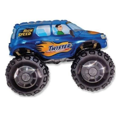 Blue Monster Truck