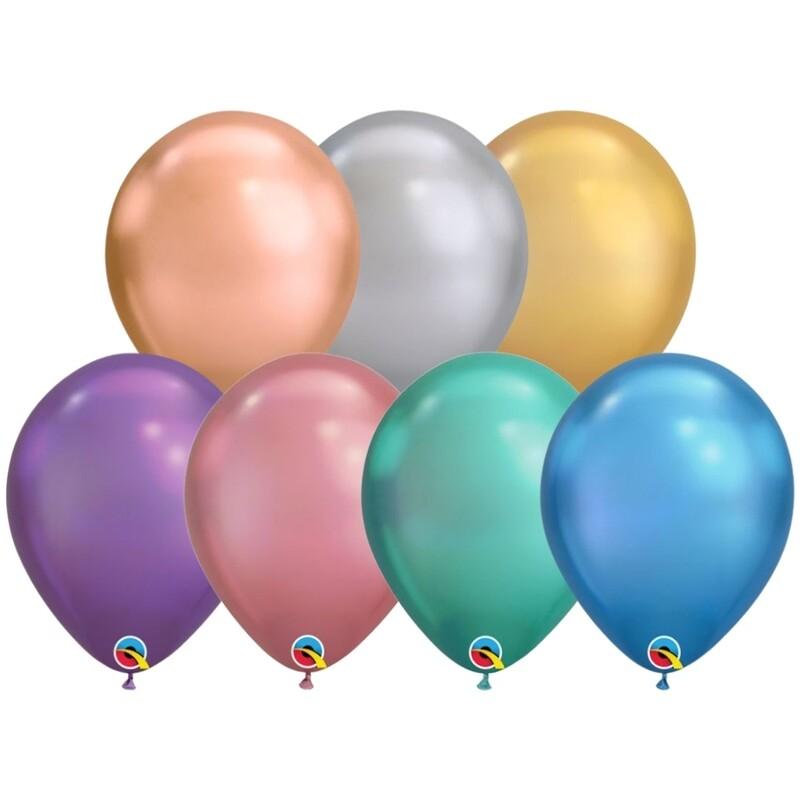 Individual Chrome Balloon