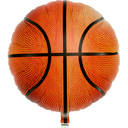 Basketball Foil Balloon