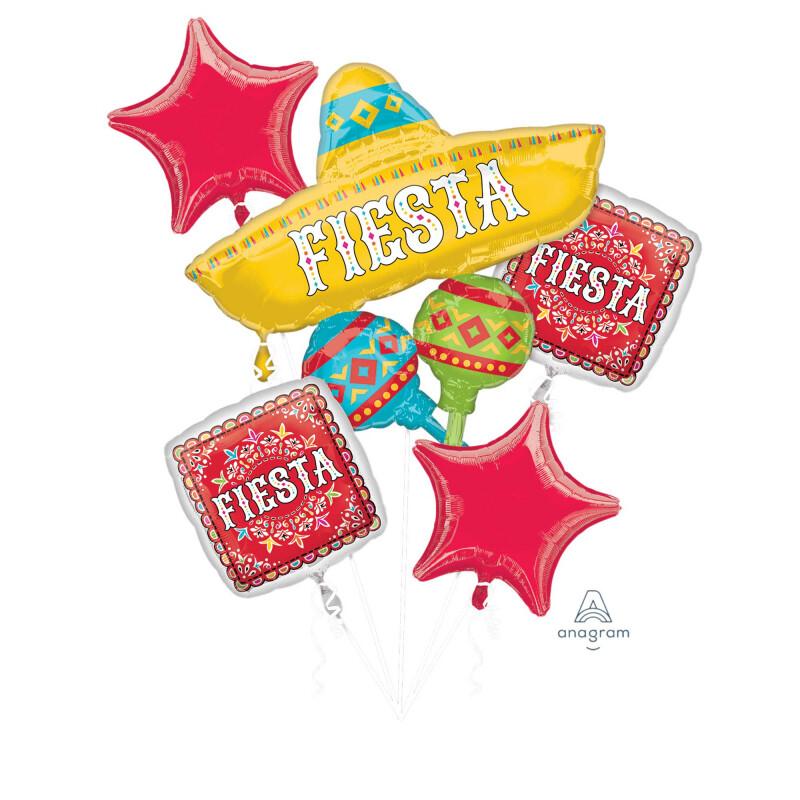 Fiesta Balloon Bouquet