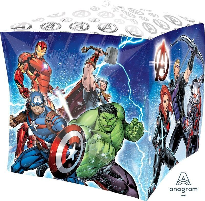Avengers Animated Cube