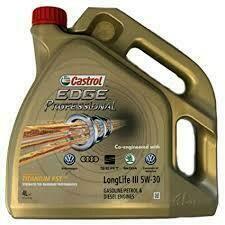 SEAT 5 litre's Castrol EDGE Professional 5W-30