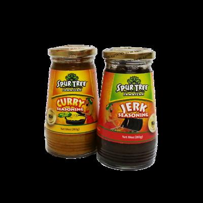 Jerk & Curry Seasoning