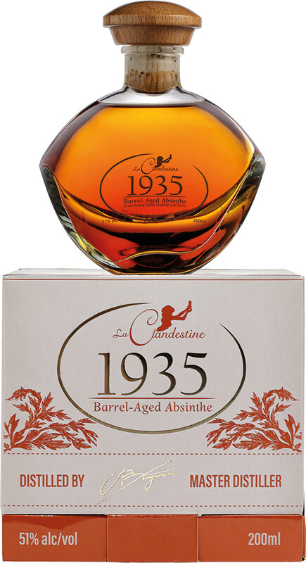 Absinthe Artemisia La Clandestine 1935 6 ans