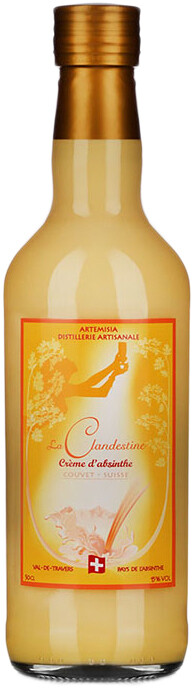 Absinthe Artemisia La Clandestine Crème d'Absinthe 50cl