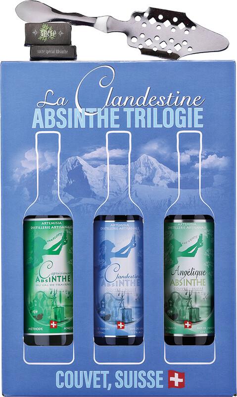 Absinthe Artemisia Coffret 3x20cl & Cuillère