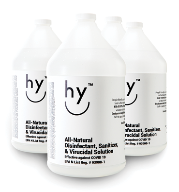 Hy - Natural Disinfectant 4 X1-gallon