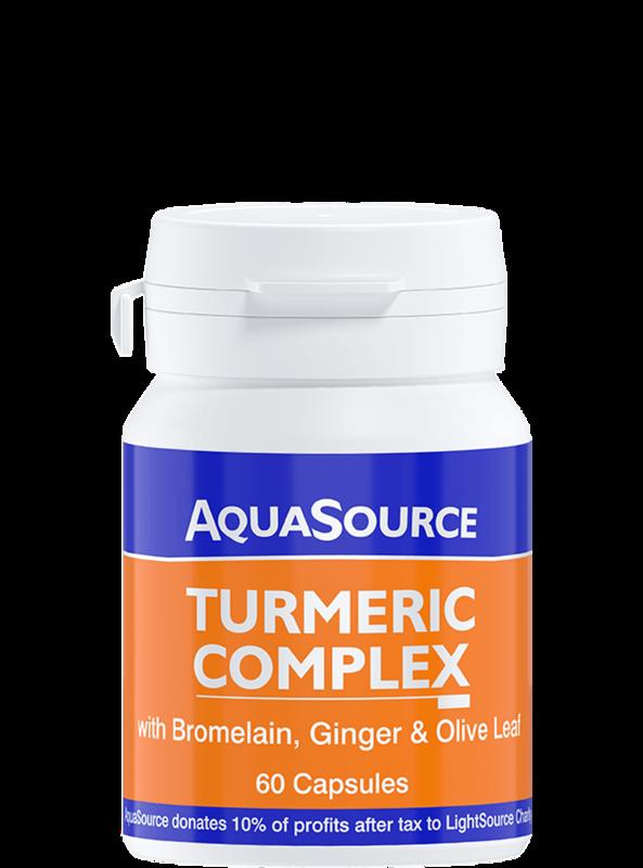 AquaSource Куркума комплекс - 60 капсули