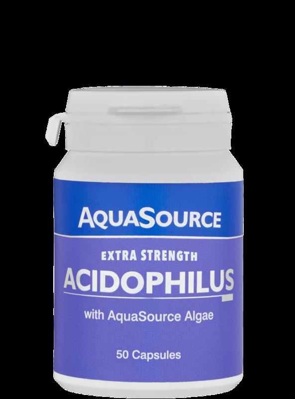 AquaSource Ацидофилус + водорасли - 50 капсули