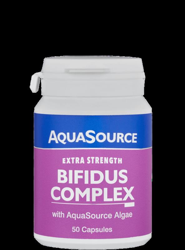 AquaSource Бифидус Комплекс + водорасли 50 капсули