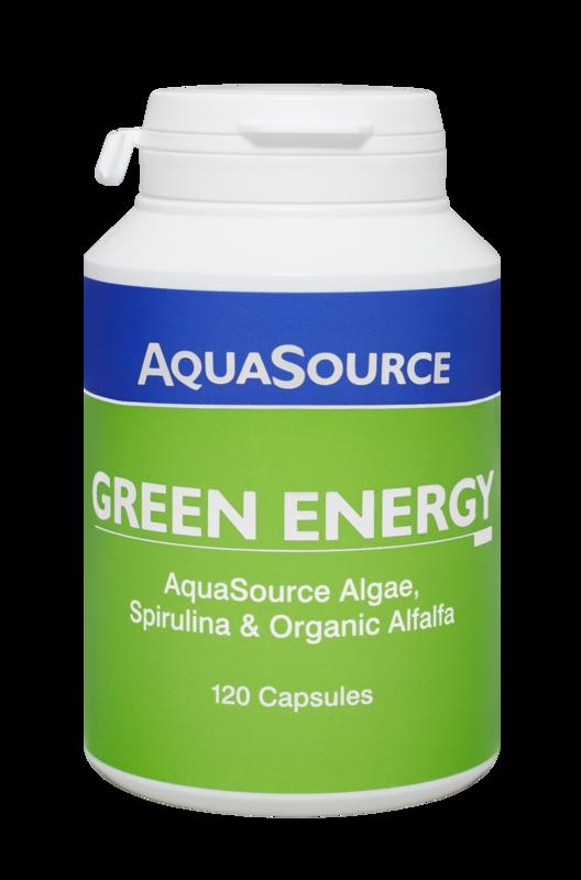 AquaSource Зелена Енергия- 120 капсули