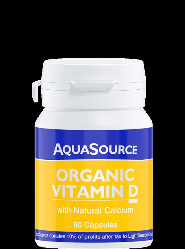 AquaSource Органичен Витамин D 60 капсули