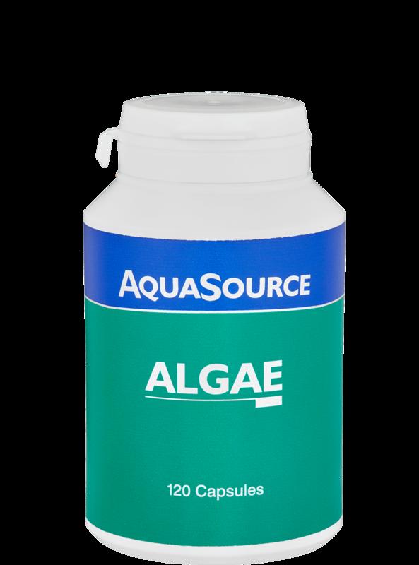AquaSource Органични Водорасли 300mg - 120 капсули
